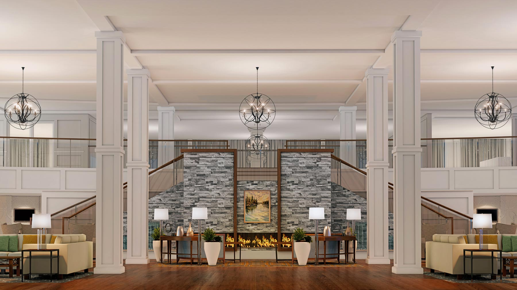 The Williston Seniors Complex Reception Lounge Lobby
