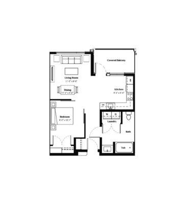 Sauvignon Floorplan