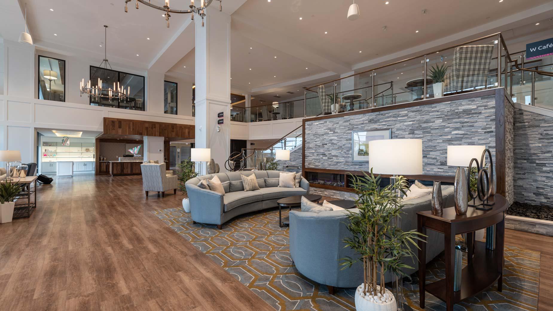 The Williston Seniors Complex Reception Lounge Lobby