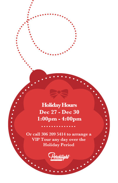 Closed For The Holidays Logo